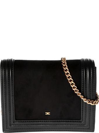Elisabetta Franchi Celyn B. Logo Plaque Shoulder Bag