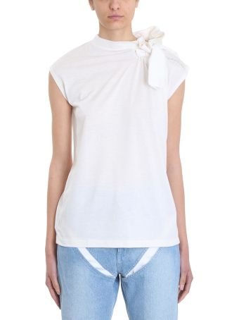 Y/Project Scarf White Top