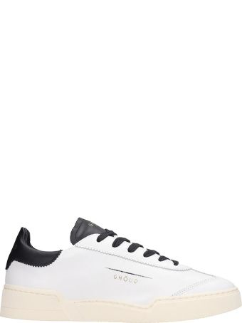 GHOUD Lob 01 White Leather Sneakers