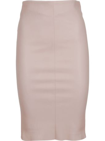 DROMe Fitted Pencil Skirt