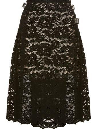 Christopher Kane Lace Pattern Skirt