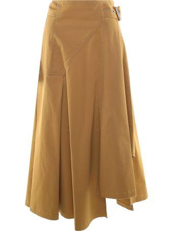 3.1 Phillip Lim Utility Twill-cotton Midi Skirt
