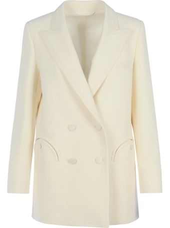 Blazé Milano Resolute Cream Everyday Blazer