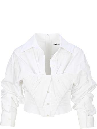 Alexander Wang Shirt Bustier Top