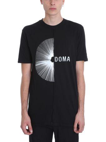 Damir Doma Tegan-d Black Cotton T-shirt
