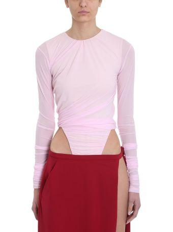 Y/Project Pink Condom Bodysuit