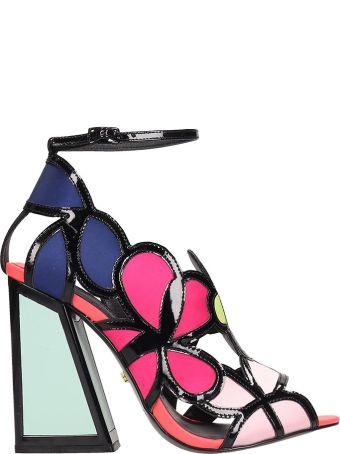 Kat Maconie Multicolr Leather Vivi Sandals