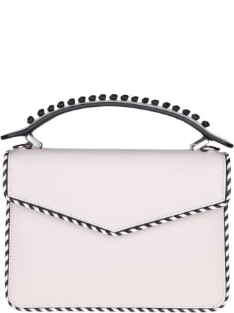 Les Petits Joueurs Hand Bag Mini Pixie In Calfskin Leather Color Ice