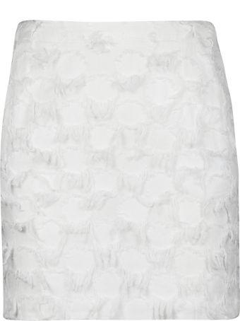 Dondup Fringed Detail Mini Skirt