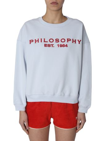 Philosophy di Lorenzo Serafini Crew Neck Sweatshirt