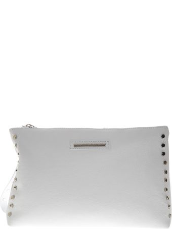 Marc Ellis Clutch Maggie In White Leather