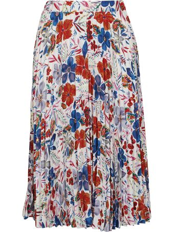 Essentiel Floral Print Skirt