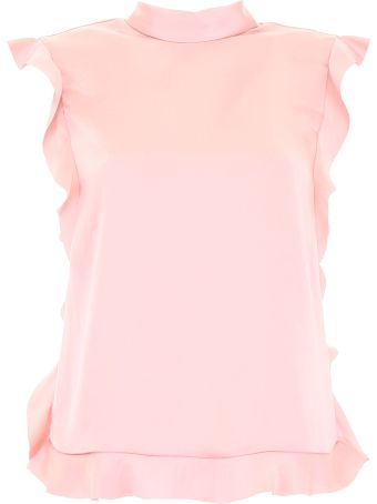 RED Valentino Ruffled Top