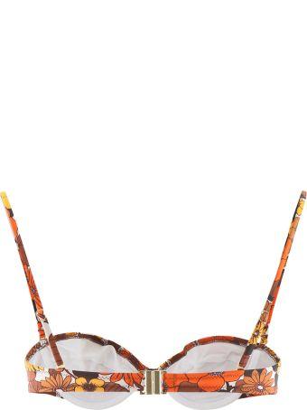 Dodo Bar Or Floral Bikini Top