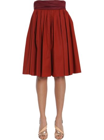 Paule Ka Pleated Skirt