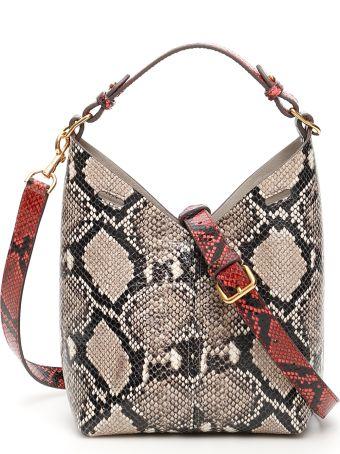 Anya Hindmarch Pyhton Print Mini Build A Bag