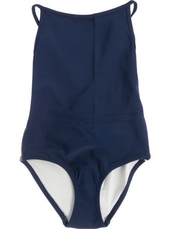 Burberry Kids Exposed Back Swimsuit