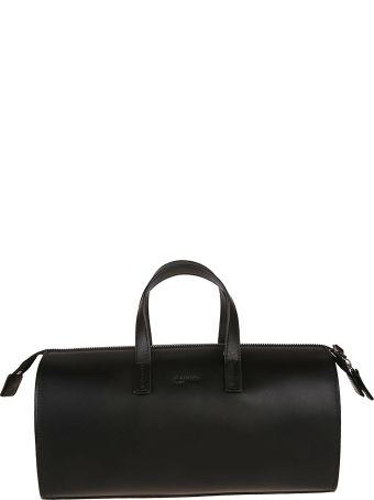 Jil Sander Navy Logo Duffle Bag