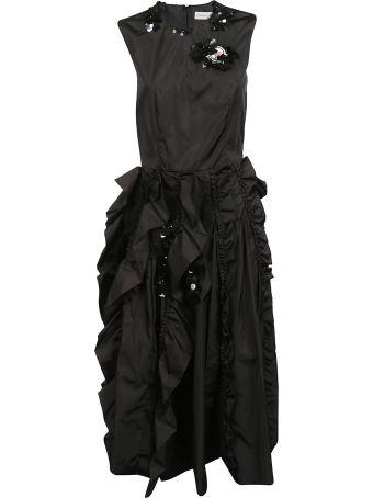 Moncler Rouches Dress