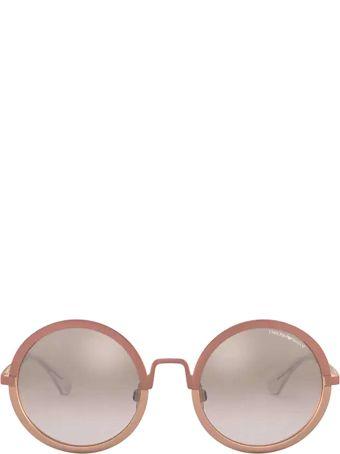 Emporio Armani Emporio Armani Ea2077 Matte Pink / Matte Rose Gold Sunglasses