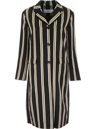 Closed Alfie Striped Coat