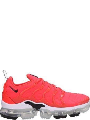 Nike Air Vapormax Orange Fabric Sneakers