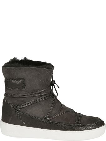 Moon Boot Logo Patch Boots