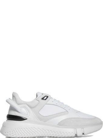 Buscemi Rear Curved Detail Sneakers