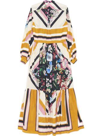 Black Coral 'sophie Graphic' Dress