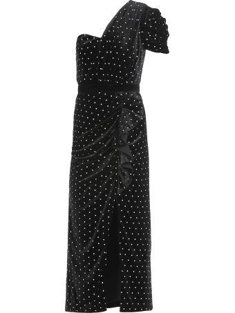 self-portrait Velvet Diamante Dress