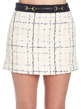 Gucci 'romantic Tweed' Skirt