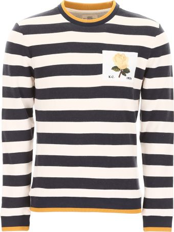Kent & Curwen Sweatshirt With Rose Patch