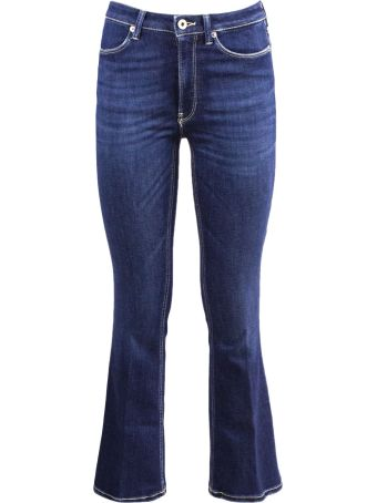 Dondup Blue Denim Cotton Jeans