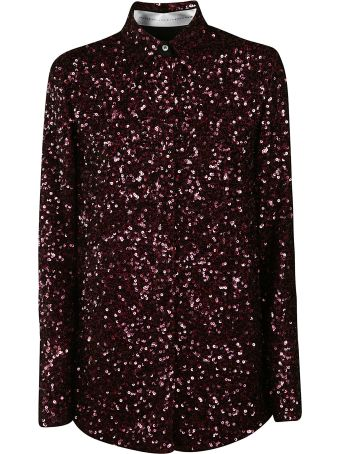 Victoria Beckham Scattered Sequin Shirt