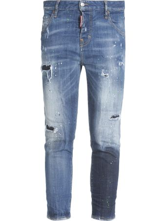 Dsquared2 Cool Girl Cropped Jean