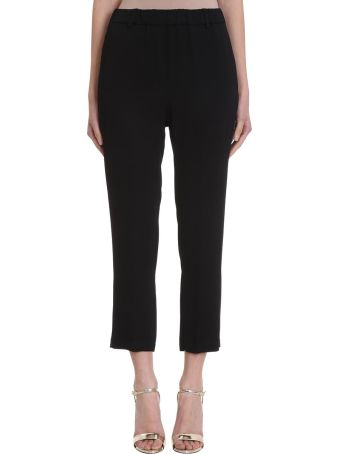 Mauro Grifoni Black Cotton Pants