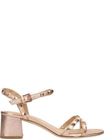 Ash Iggy Metal Bronze Leather Sandals
