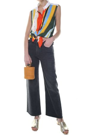Simon Miller Nashua High-rise Wide-leg Cropped Jeans