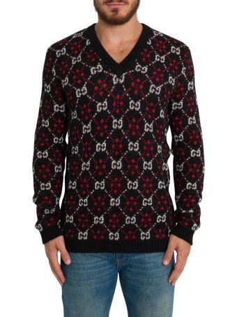 Gucci Gg Jacquard Sweater