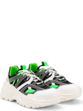 Cinzia Araia Panelled Chunky Sole Sneakers
