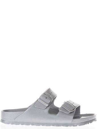 Birkenstock Silver Arizona Eva Sandals