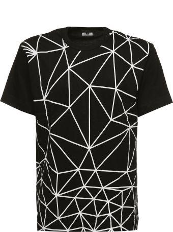 Comme Des Garçons Homme Plus Comme Des Garçons Homme Geometric Print T-shirt