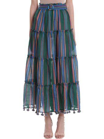 Zimmermann Allia Stripe Skirt