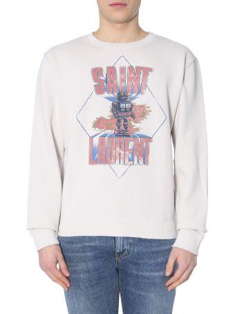 Saint Laurent Saint Laurent Robot Sweatshirt With Print