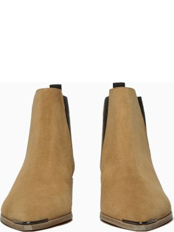 Acne Studios Jensen Suede Ankle Boots  Suede