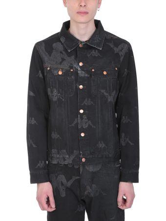 Danilo Paura x Kappa Black Denim Jacket