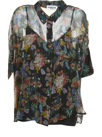 Essentiel Floral Print Shirt