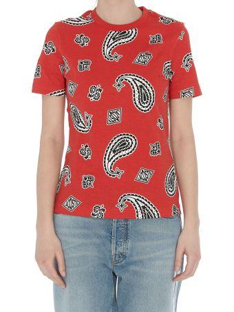 Lacoste L!VE Paisley Print T-shirt
