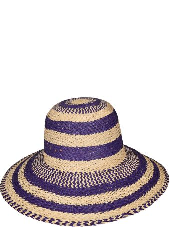 Forte_Forte Forte Forte Stripe Straw Hat