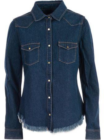 Marques'Almeida Frayed Denim Shirt